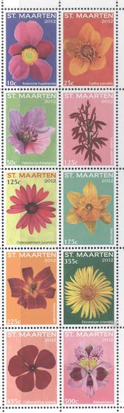 NETHERLANDS ANTILLES (2012) - ST MAARTEN Flowers II (10)