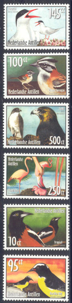 NETHERLANDS ANTILLES- Birds 2004- 6v