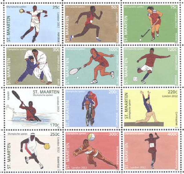 NETHERLANDS ANTILLES- ST MAARTEN London Olympics 2012- soccer- tennis- judo- cycling etc (12)