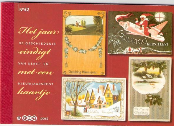 NETHERLANDS- December 2010 Prestige Booklet- Christmas