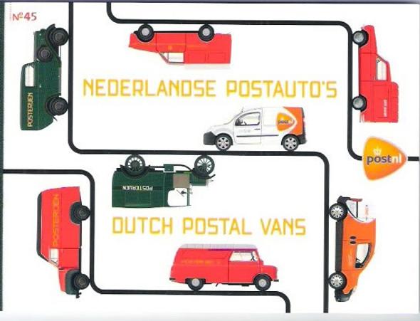 NETHERLANDS- Europa 2013 Postage Vehicles Prestige Booklet
