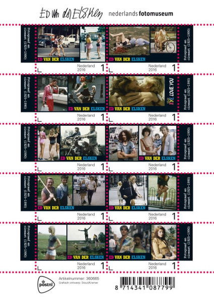 NETHERLANDS- Photography 2016- Sheet of 10