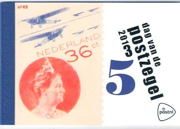 NETHERLANDS- Stamp Day 2013 Prestige Booklet