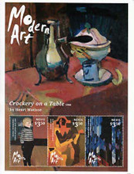 NEVIS (2015) Modern Art MATISSe Sheet (3v)