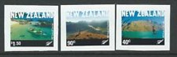 NEW ZEALAND (2001) Tourism Self Adhesive ((3v)