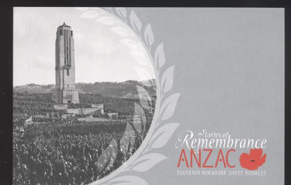 NEW ZEALAND (2010) WWI Anzac Prestige Booklet