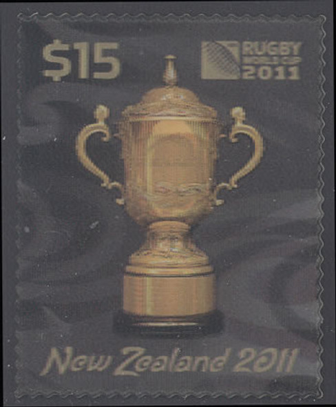 NEW ZEALAND (2011)- Rugby 2011 World Cup 3D Stamp