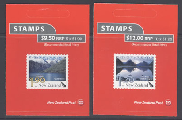 NEW ZEALAND- Scenic Views Booklets- self-adhesive (2)
