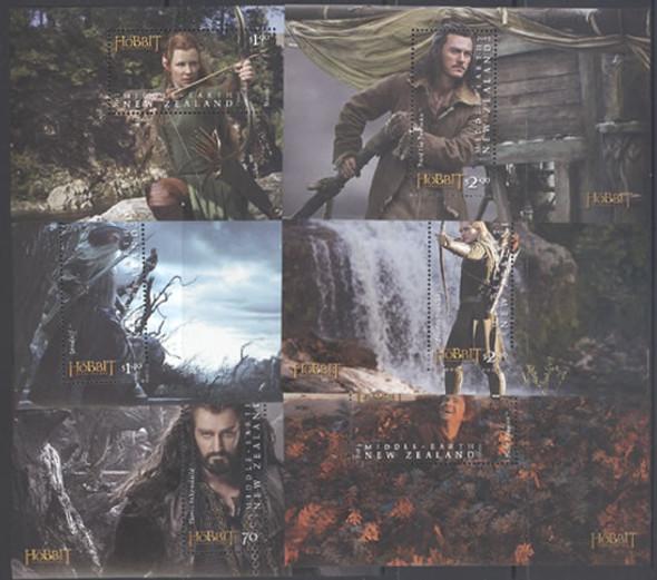 NEW ZEALAND- The Hobbit II 2013- souvenir sheet (6)