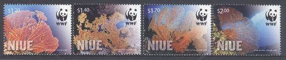 NIUE (2014) - WWF Giant Sea Clams (4)