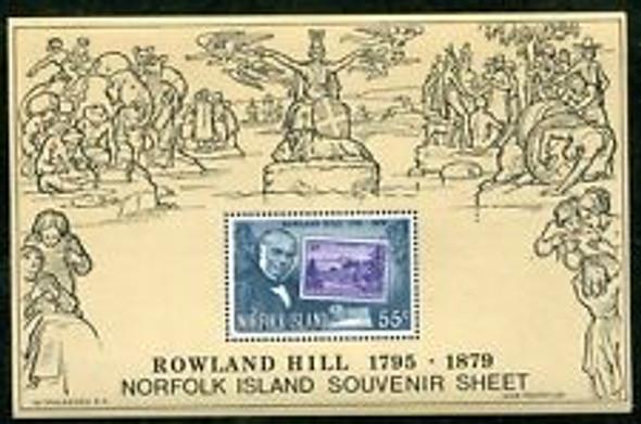 NORFOLK ISLAND (1979) Rowland hill SS