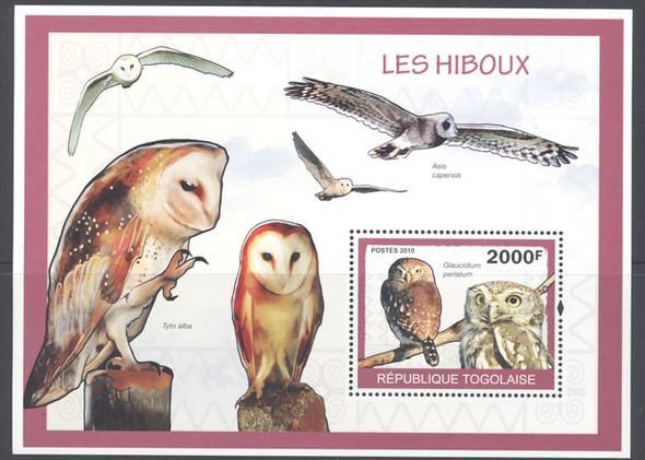 Owls 2010- souvenir sheet