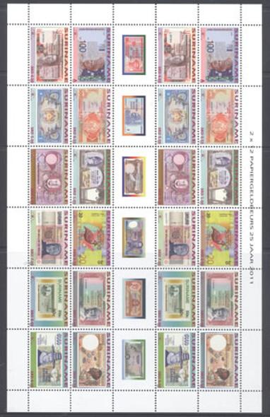 Paper money Fair- mini-sheet of 2 sets