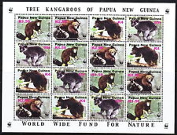 PAPUA NEW GUINEA (2003) Tree Kangaroo SHEET