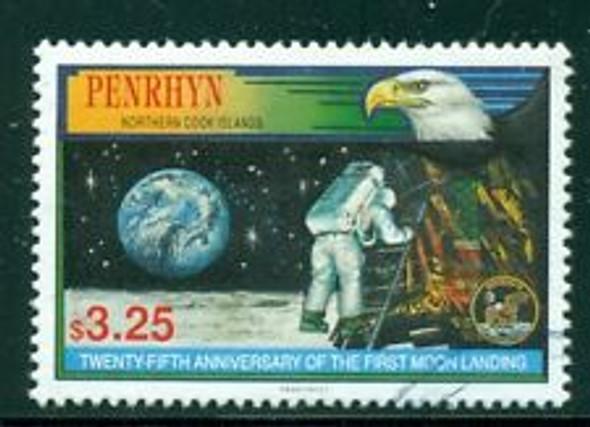 PENRHYN (1994) SPACE, Moon Landing Anniversary (1v)