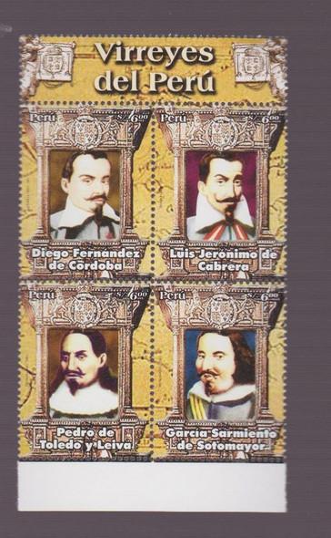 PERU ( 2007) Viceroy Block cv$16