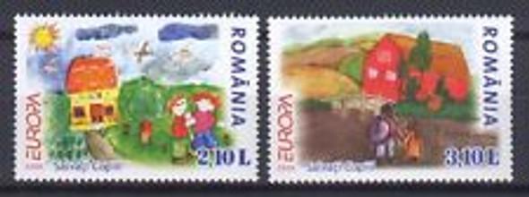 ROMANIA ( 2006) EUROPA Childrens Art (2v)
