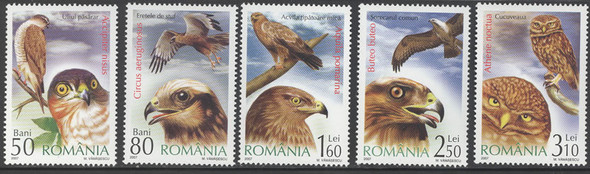 ROMANIA (2007) - Birds of Prey- owl (5)