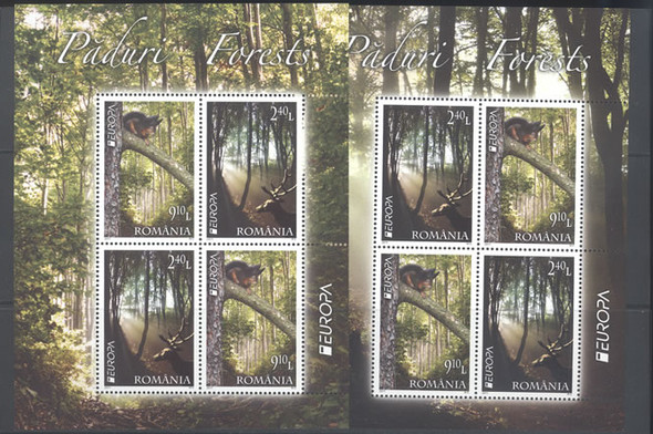 ROMANIA- Europa 2011 Year of the Forest- souvenir sheet (2)