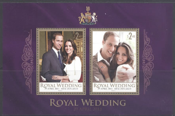 Royal Wedding- souvenir sheet