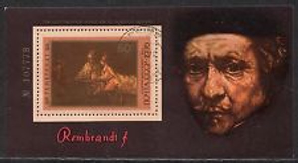 RUSSIA (1977) REMBRANDT Sheet