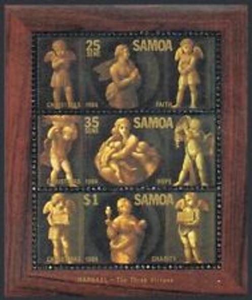 SAMOA ( 1985) Christmas, Angels ,  Sheet