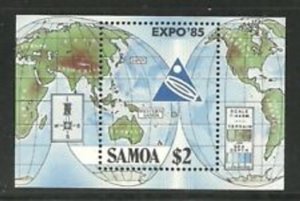 SAMOA ( 1985) MAPS, EXPO 85 SS