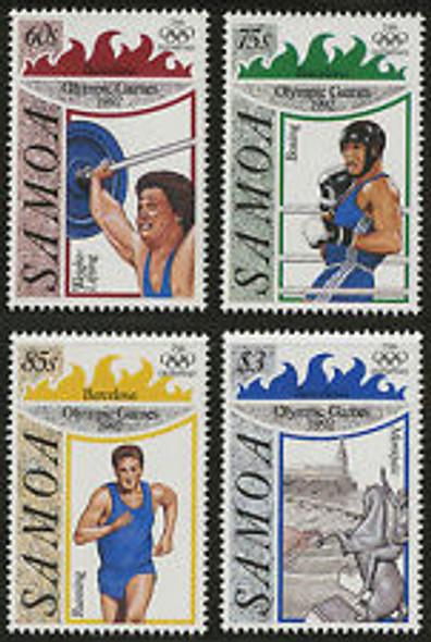 SAMOA (1992) OLYMPICS (4v) Blocks Available At Request !