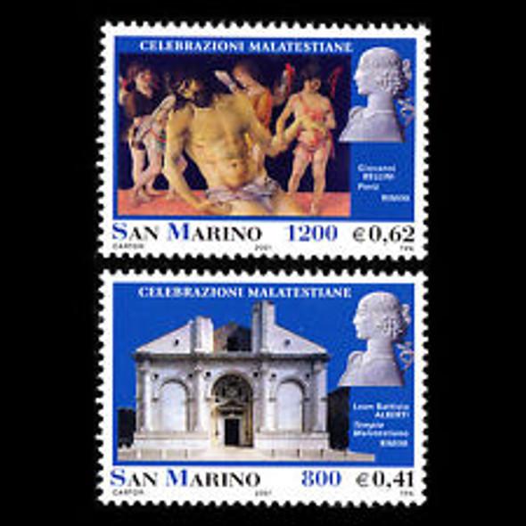 San Marinio (2001) Malatesta, Art, Sculpture,Architecture (2v)