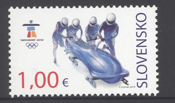 SLOVAKIA- (2010)Vancouver 2010 Olympics- bobsled