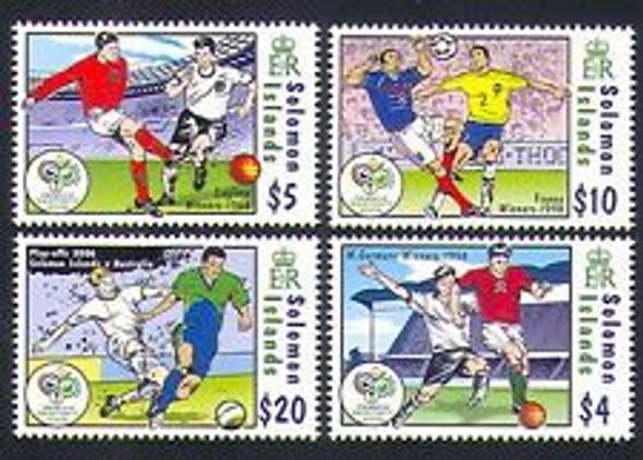SOLOMON ISLANDS (2006) SOCCER World Cup (4v)