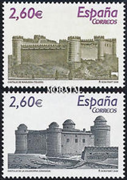 SPAIN (2008) castles (2v)