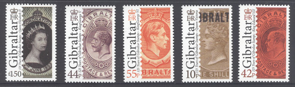 Stamp Anniversary- stamp on stamp- Kings and Queens