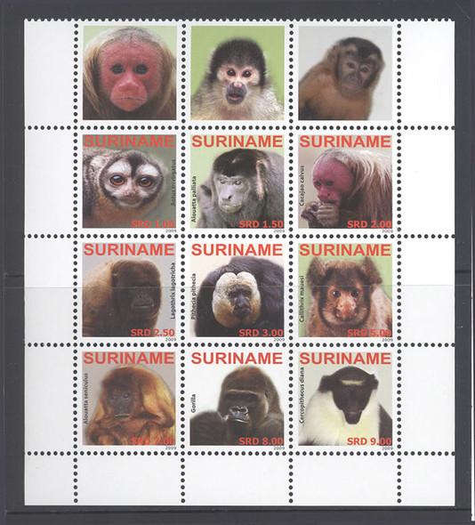 SURINAM- Endangered Primates (9)