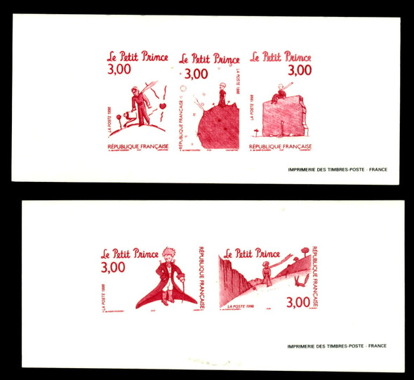 """""""THE LITTLE PRINCE""""- 2 COLOR TRIAL PROOF SHEETS (1998)"""