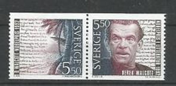 SWEDEN ( 1993) Walcott Nobel Prize (2v)