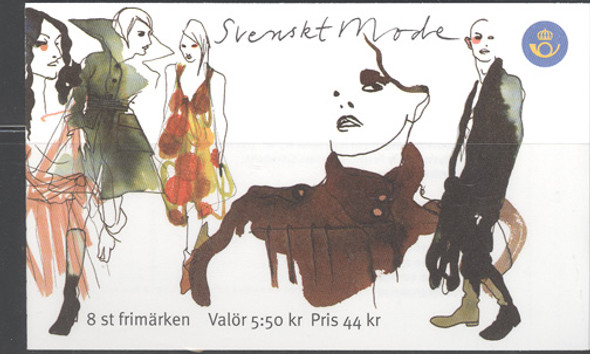 SWEDEN (2007) - Fashion Booklet of 8 values