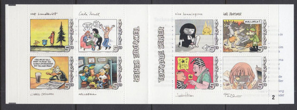 SWEDEN (2008) - Comic Strips Booklet-