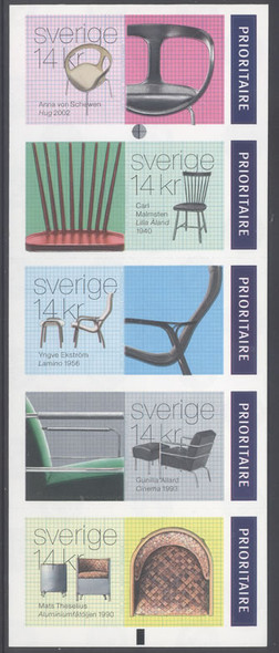 SWEDEN (2015): Chairs Booklet- Priority values (5)