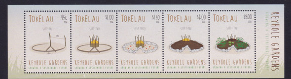 TOKELAU (2016) - Keyhole Gardens- souvenir sheet