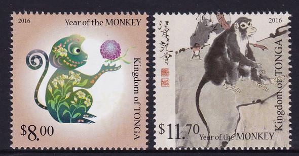 TONGA- Year of the Monkey 2016 (2)
