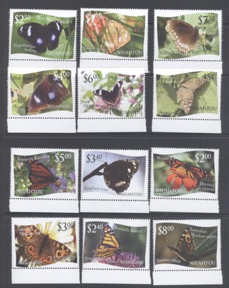 TONGA/NIUAFOUOU (2012) - Butterflies (12)