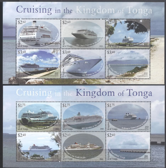 TONGO - Cruise Ships 2013- Sheets of 6 (2)