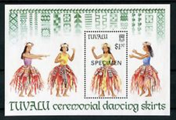 TUVALU (1989) Ceremonial Dancers SS