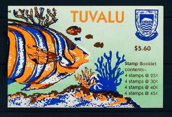 TUVALU (1997)- Deep Sea Fish Booklet of 16v