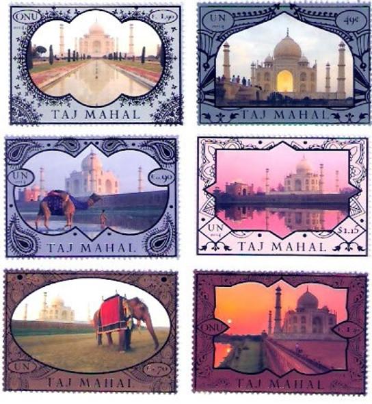 UNITED NATIONS (2014)- Taj Mahal World Heritage Series (6)