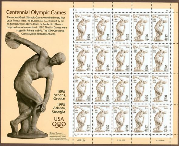 32c Olympic Discobolus (1996)