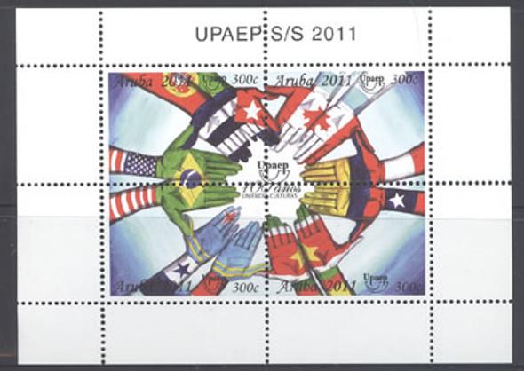 UPAEP 2011 Centennial- souvenir sheet