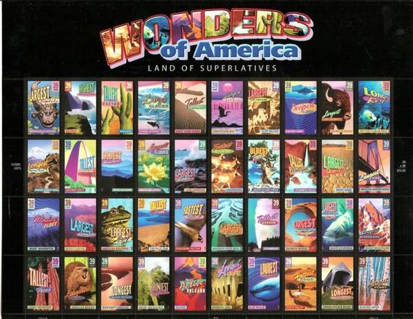 US (2006) Wonders of America Sheet of 40- #4972A