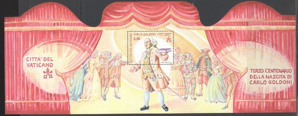 VATICAN (2007)- Carlo Goldini--fold out theatre sheet